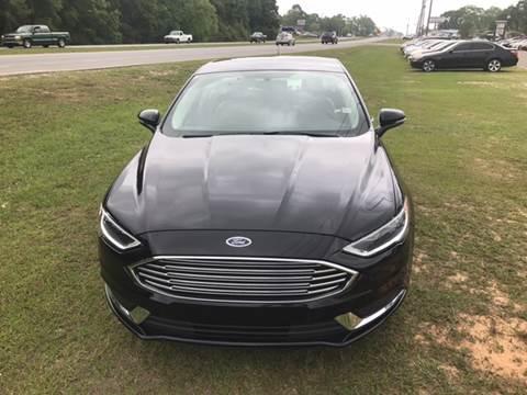 2017 Ford Fusion for sale at Stevens Auto Sales in Theodore AL