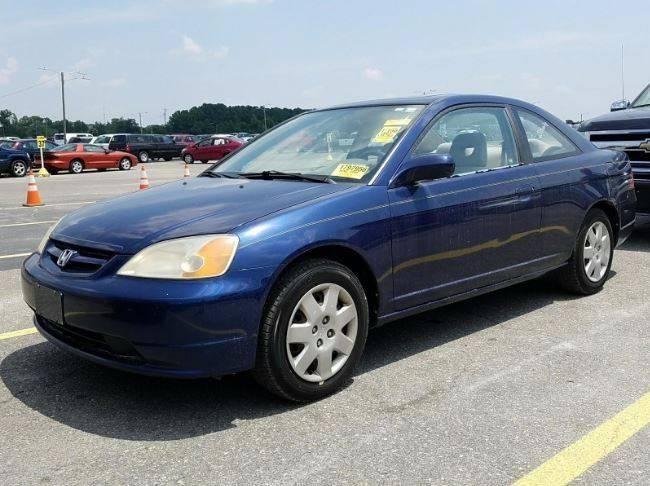 2001 Honda Civic EX 2dr Coupe   Durham NC