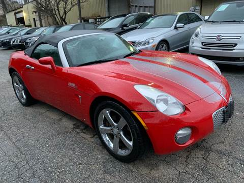 2008 Pontiac Solstice for sale in Alpharetta, GA