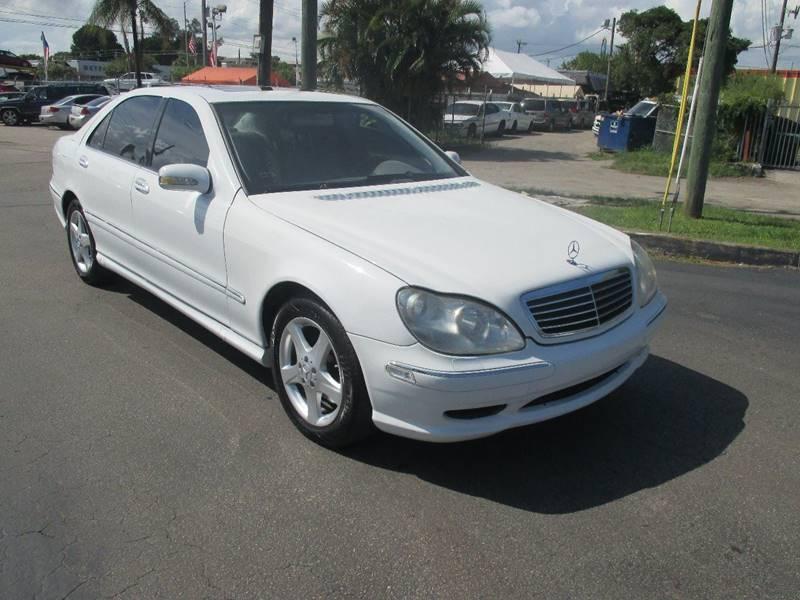 2000 Mercedes-Benz S-Class S 430 4dr Sedan - Miami FL