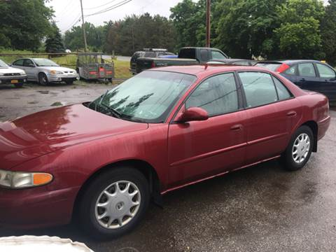 2003 Buick Century for sale at VILLAGE MOTORS in Holley NY