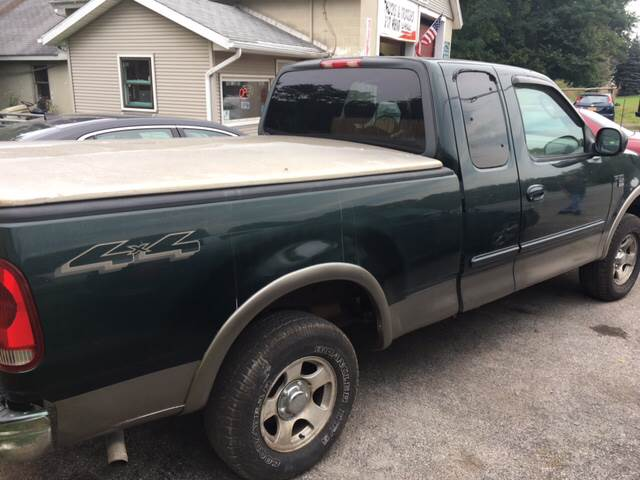 2003 Ford F-150 for sale at VILLAGE MOTORS in Holley NY