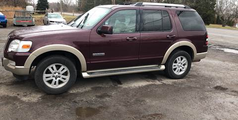 2007 Ford Explorer Eddie Bauer for sale at VILLAGE MOTORS in Holley NY