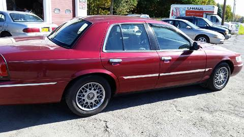 2002 Mercury Grand Marquis for sale at VILLAGE MOTORS in Holley NY