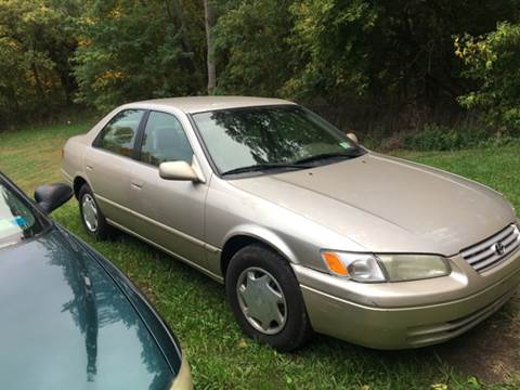 1999 Toyota Camry for sale at VILLAGE MOTORS in Holley NY