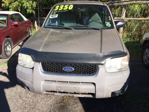 2001 Ford Escape for sale at VILLAGE MOTORS in Holley NY