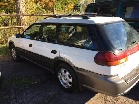 1997 Subaru Legacy for sale at VILLAGE MOTORS in Holley NY