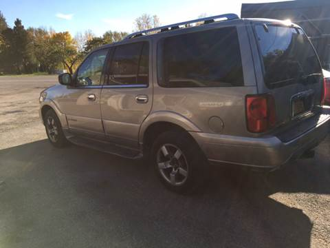 2001 Lincoln Navigator for sale at VILLAGE MOTORS in Holley NY