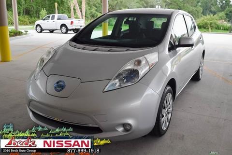 2013 Nissan LEAF for sale in Palatka, FL