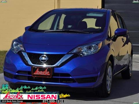 2017 Nissan Versa Note for sale in Palatka FL