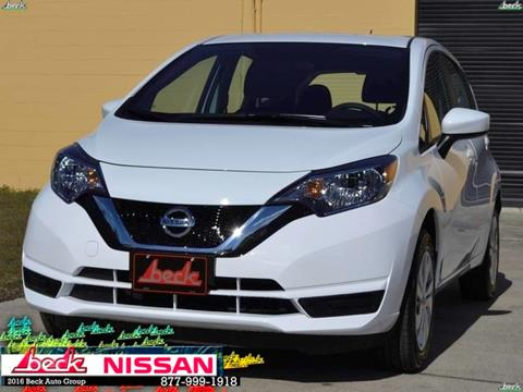 2017 Nissan Versa Note for sale in Palatka, FL