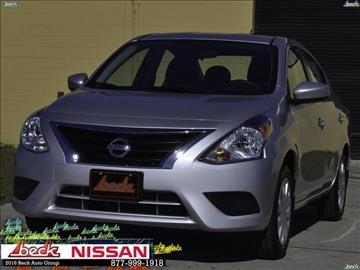 2017 Nissan Versa for sale in Palatka, FL