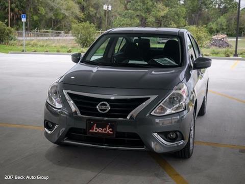 2017 Nissan Versa for sale in Palatka FL