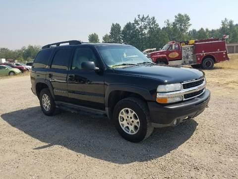 2004 Chevrolet Tahoe for sale in Victor, MT