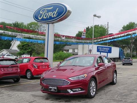2017 Ford Fusion for sale in Meadville, PA