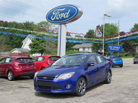 2014 Ford Focus for sale in Meadville PA