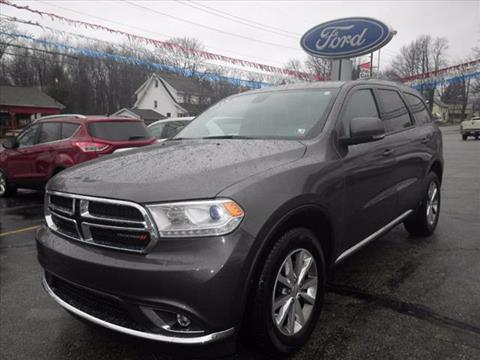 2015 Dodge Durango Limited & Used Cars Meadville Car Repair Oil Change Erie PA Franklin PA ... markmcfarlin.com