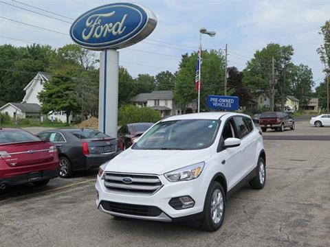 2017 Ford Escape for sale in Meadville PA