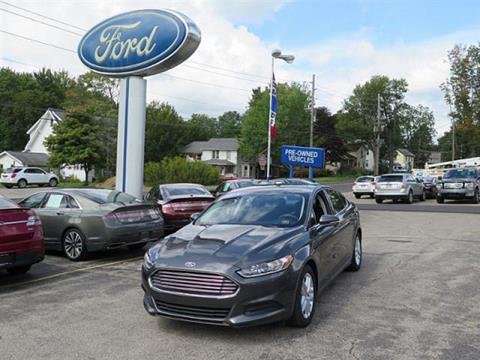 2015 Ford Fusion for sale in Meadville PA