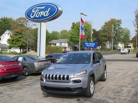 2016 Jeep Cherokee for sale in Meadville PA