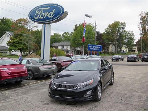 2014 Kia Optima Hybrid for sale in Meadville PA