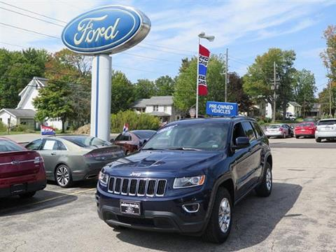 2015 Jeep Grand Cherokee for sale in Meadville, PA
