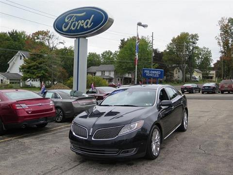 2013 Lincoln MKS for sale in Meadville, PA