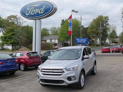 2017 Ford Escape for sale in Meadville, PA