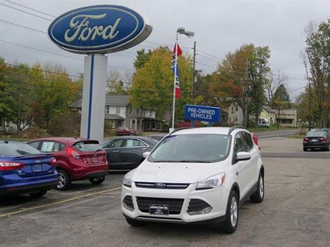 2014 Ford Escape for sale in Meadville PA