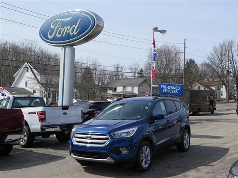2018 Ford Escape For Sale At WEBER HARRIS FORD In Meadville PA