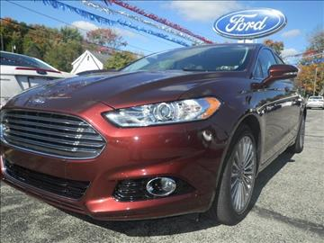 2016 Ford Fusion for sale in Meadville, PA