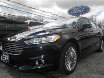 2014 Ford Fusion for sale in Meadville, PA