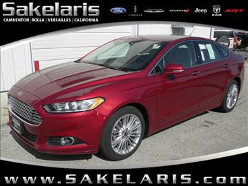 2016 Ford Fusion for sale in California, MO