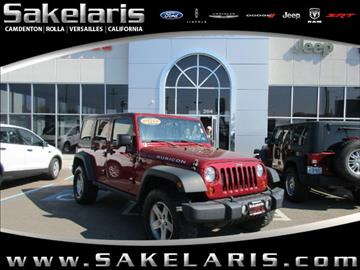 2012 Jeep Wrangler Unlimited for sale in California, MO