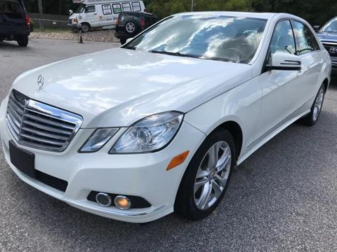 2010 Mercedes Benz E Class For Sale In Fayetteville, NC