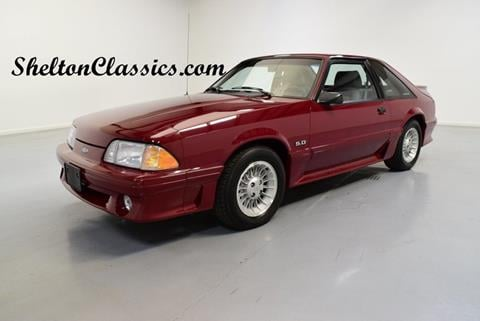 1989 Ford Mustang for sale in Mooresville, NC