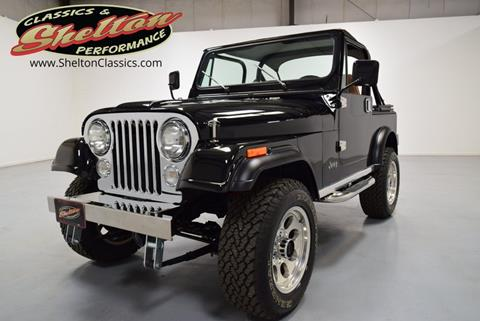 1985 Jeep CJ-7 for sale in Mooresville, NC