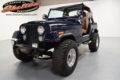1983 Jeep CJ-7 for sale in Mooresville, NC