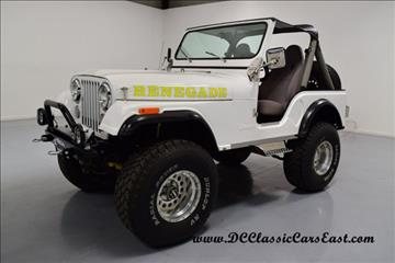 1982 Jeep CJ-5 for sale in Mooresville, NC