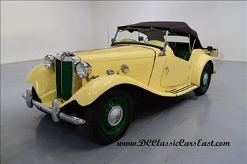 1951 MG TD for sale in Mooresville, NC