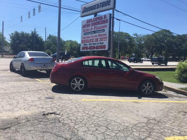 2004 Nissan Maxima for sale at Atlanta South Auto Brokers in Union City GA