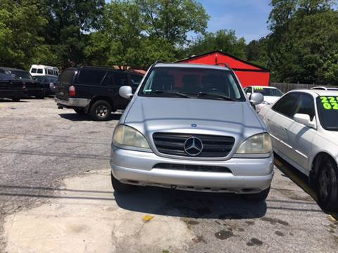 2000 Mercedes-Benz M-Class for sale at Atlanta South Auto Brokers in Union City GA