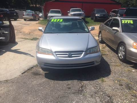 2002 Honda Accord for sale at Atlanta South Auto Brokers in Union City GA