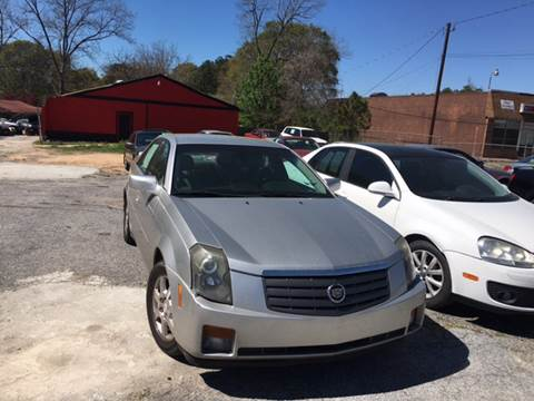 2005 Cadillac CTS for sale at Atlanta South Auto Brokers in Union City GA