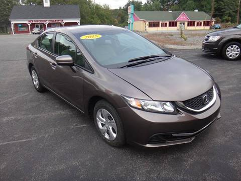 2015 Honda Civic for sale in Pelham, NH
