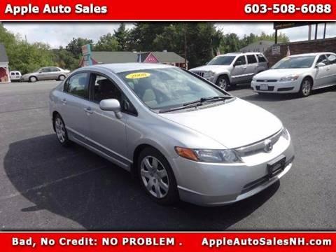 2008 Honda Civic for sale in Pelham, NH