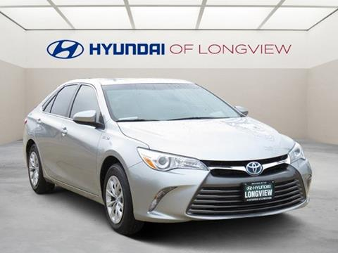 2016 Toyota Camry Hybrid for sale in Longview, TX