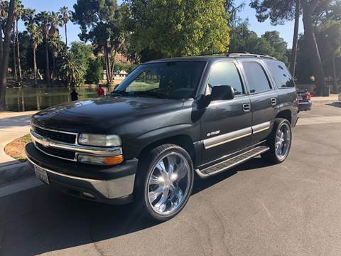2003 Chevrolet Tahoe for sale at Inland Motors LLC in Riverside CA