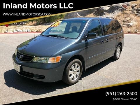 2003 Honda Odyssey for sale in Riverside, CA