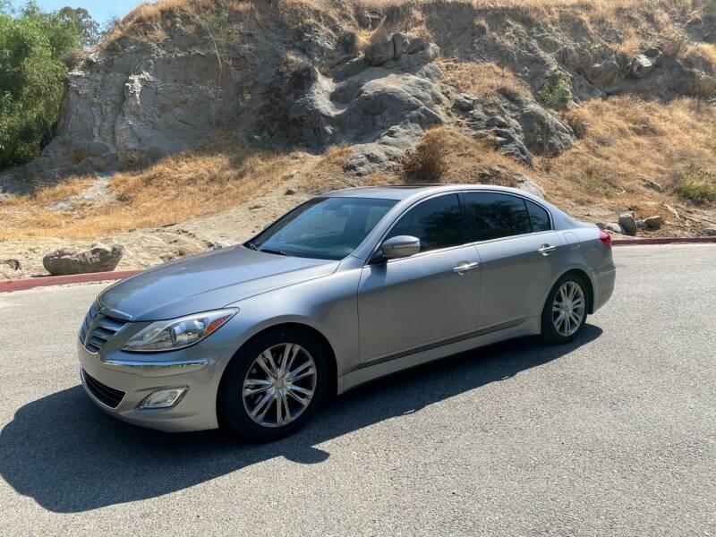 2012 Hyundai Genesis for sale at Inland Motors LLC in Riverside CA
